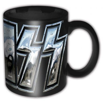 KISS Chrome Logo Ceramic Mug